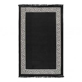 Béžovo-čierny obojstranný koberec Justed, 140×215 cm
