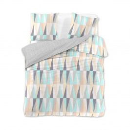 Obliečky na dvojlôžko z bavlneného saténu DecoKing Pastel Love, 220 x 200 cm