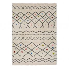 Biely koberec vhodný aj do exteriéru Universal Kasbah Puro, 160 x 230 cm
