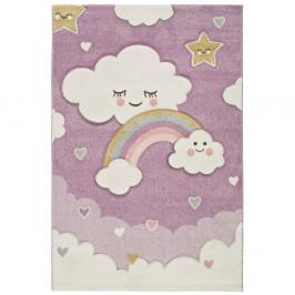 Fialový detský koberec vhodný aj do exteriéru Universal Toys Lilac, 120 × 170 cm