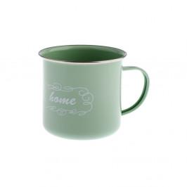 Zelený plechový hrnček Dakls Sarro, 500 ml