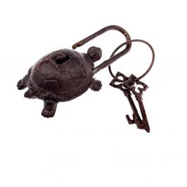 Dekoratívne liatinové kľúče Dakls Heart Rustico
