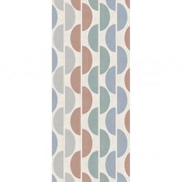 Sivomodrý behúň Floorita Halfmoon, 60 × 140 cm
