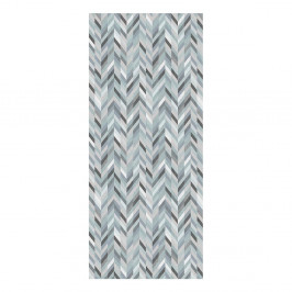 Behúň Floorita Leather Aqua, 60 × 240 cm