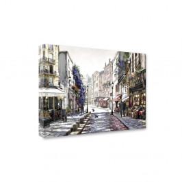 Obraz Styler Canvas Watercolor Paris II, 60×80 cm