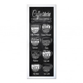 Obraz Styler Modernpik Coffee Coll, 24 × 68 cm