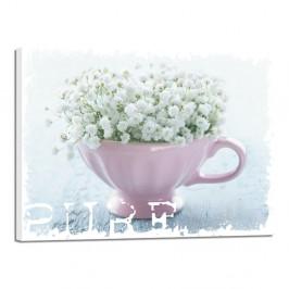 Obraz Styler Shaby White Pure, 32 × 42 cm
