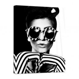 Obraz Styler Canvas Glam Glasses, 60×80 cm