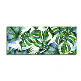 Obraz Styler Canvas Greenery Tropical, 60×150 cm