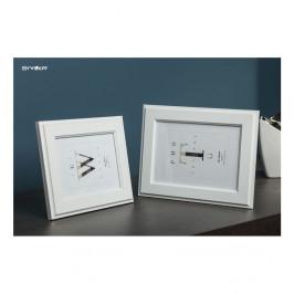 Biely rámček na fotografiu Styler Malmo, 47 x57cm