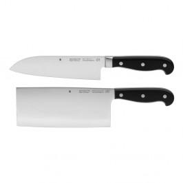 Set noža a sekáčiku na mäso zo špeciálne kovanej antikoro ocele WMF Spitzenklasse