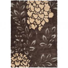 Hnedosivý koberec Safavieh Felix, 99×160cm