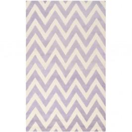 Vlnený koberec Stella Light Purple, 152x243 cm