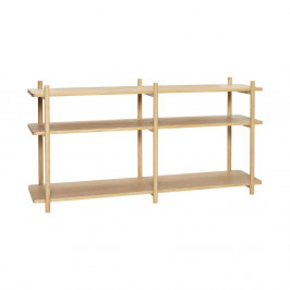 Polica Hübsch Oak Shelving Unit