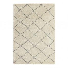Sivo-krémový koberec Think Rugs Royal Nomadic Cream & Grey, 160×230 cm