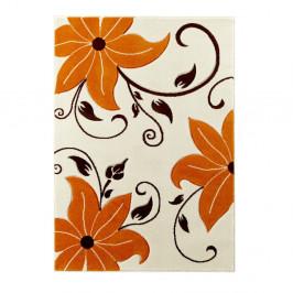 Béžovo-oranžový koberec Think Rugs Verona, 80×150cm