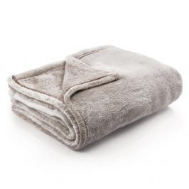 Svetlohnedá deka z mikrovlákna DecoKing Brown, 220 × 240 cm