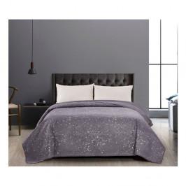 Sivý obojstranný pléd z mikrovlákna DecoKing Cilantro, 170 x 270 cm