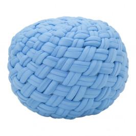 Modrý puf Mauro Ferretti Rope, ø 50 cm