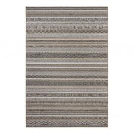 Hnedý koberec vhodný aj do exteriéru Elle Decor Bloom Torcy, 80 × 150 cm