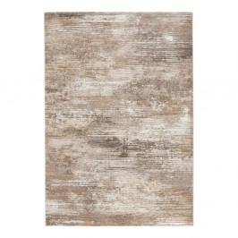 Hnedo-krémový koberec Elle Decor Arty Trappes, 120 × 170 cm