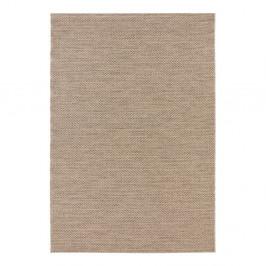 Hnedý koberec vhodný aj do exteriéru Elle Decor Brave Caen, 120 × 170 cm