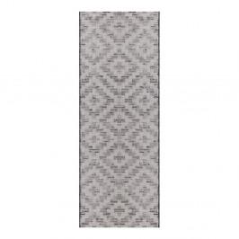 Krémovo-sivý behúň Elle Decor Curious Creil, 77×200 cm