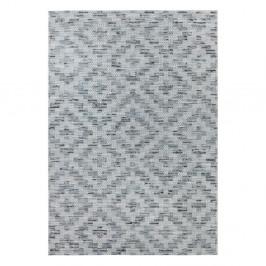 Modro-sivý koberec Elle Decor Curious Creil, 77×150 cm