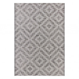 Krémovo-sivý koberec Elle Decor Curious Creil, 77×150 cm