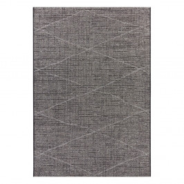 Antracitovosivý koberec Elle Decor Curious Blois, 77×150 cm