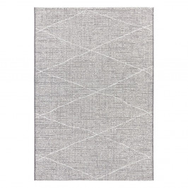 Antracitovobéžový koberec Elle Decor Curious Blois, 77×150 cm