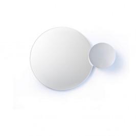 Biele nástenné zrkadlo Wireworks Eclipse