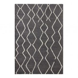 Tmavosivý koberec Elle Decor Glow Vienne, 120 x 170 cm