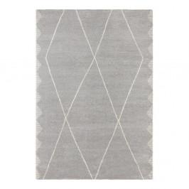 Svetlosivý koberec Elle Decor Glow Beaune, 80 x 150 cm