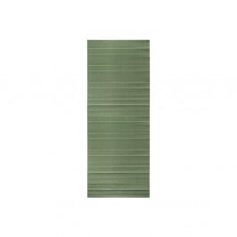 Zelený behúň vhodný aj do exteriéru Hanse Home Sunshine, 80 × 200 cm
