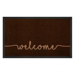 Hnedá rohožka Hansa Home Welcome, 45 × 75 cm