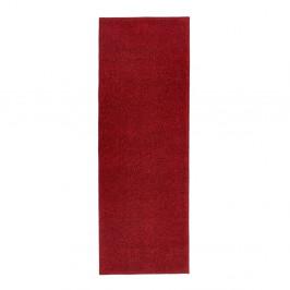 Červený behúň Hanse Home Pure, 80 × 200 cm