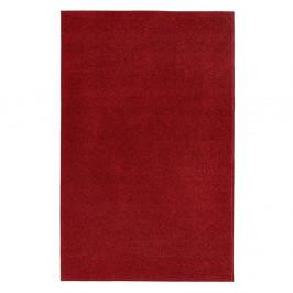 Červený koberec Hanse Home Pure, 140 × 200 cm