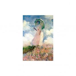 Reprodukcia obrazu Claude Monet - Woman with Sunshade, 45×30 cm