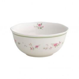 Sada 2 bielych porcelánových misiek Brandani Nonna Rossa, ⌀ 14 cm