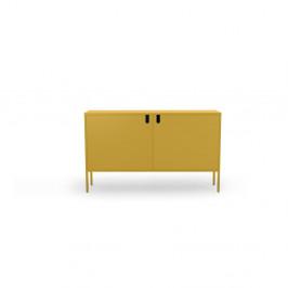Žltá komoda Tenzo Uno, šírka 148 cm