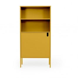 Žltá skriňa Tenzo Uno, šírka 76 cm