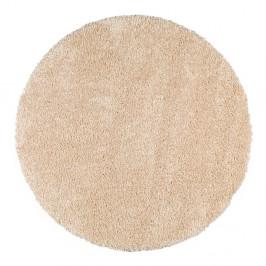 Béžový guľatý koberec Universal Aqua, ø80cm