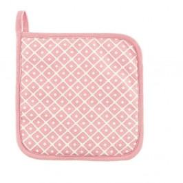Sada 2 ružových bavlnených chňapiek Tiseco Home Studio Dot