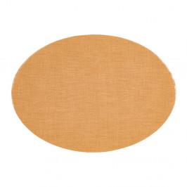 Hnedé prestieranie Tiseco Home Studio Oval, 46 × 33 cm
