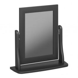 Čiernohnedé kozmetické zrkadlo k toaletnému stolíku Steens Baroque