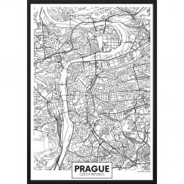 Plagát DecoKing Map Prague, 70 x 50 cm