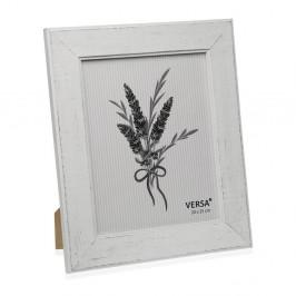 Drevený rámik na fotografiu Versa Madera Blanco, 20 × 25 cm