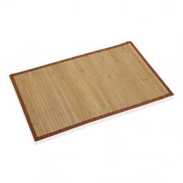 Bambusová kúpeľňová predložka Versa Johnatan, 50 × 80 cm