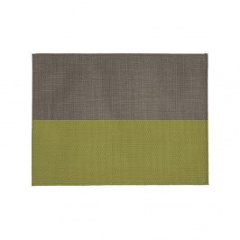 Béžovo-zelené prestieranie Tiseco Home Studio Stripe, 33 x 45 cm